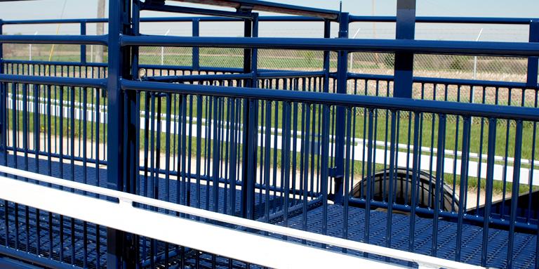 Livestock Trailer Center Gate